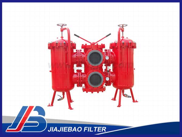 SDRLF系列大流量双筒回油过滤器(1.6MPa)