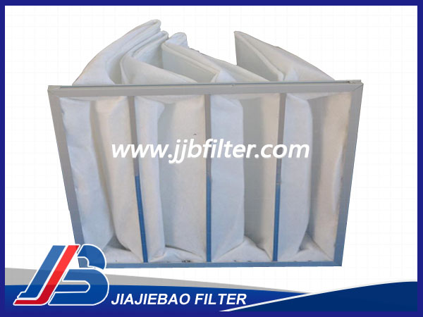 铝合金板框袋式空气过滤器