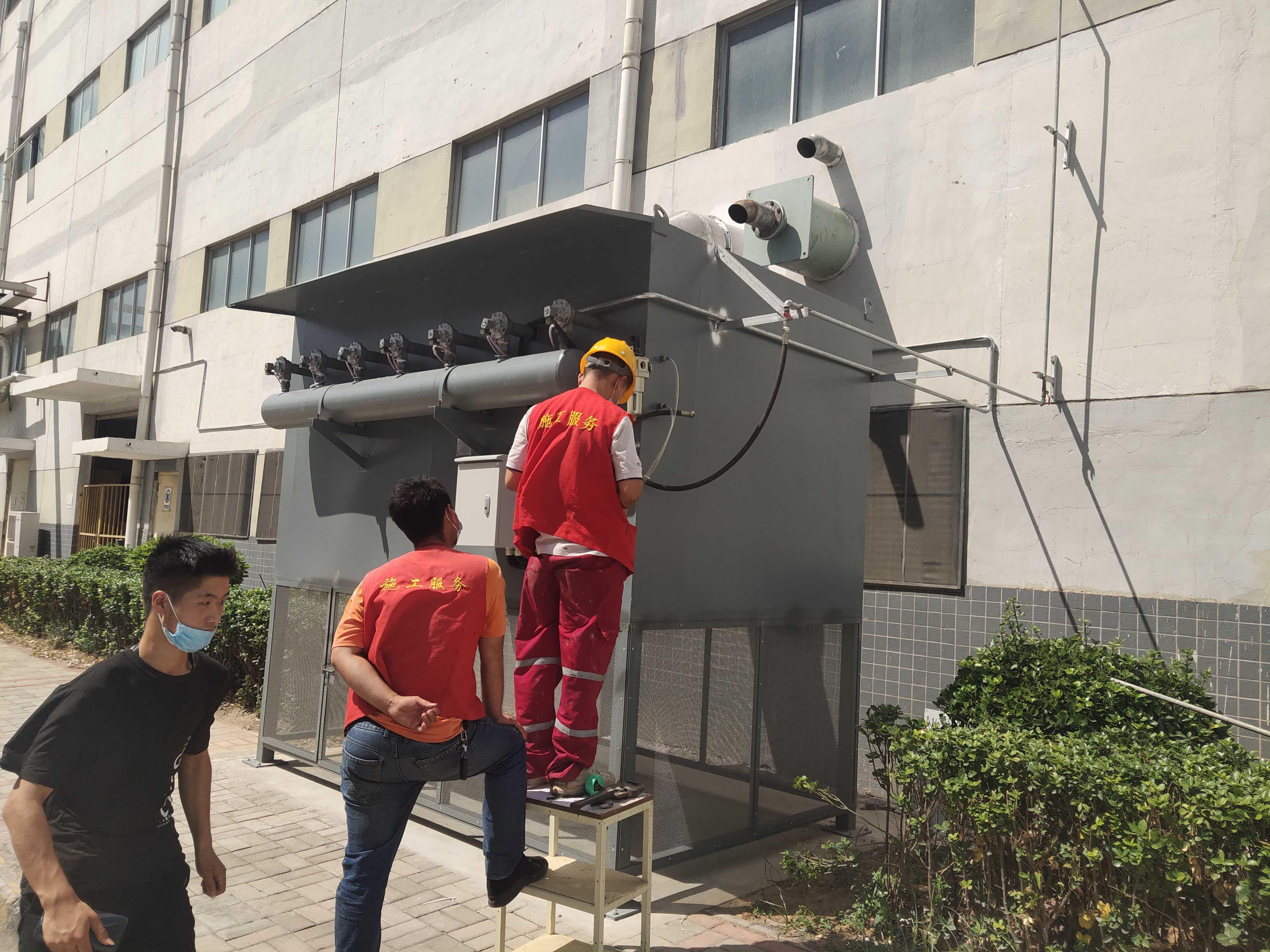 辽宁省某鼓风机除尘改造项目