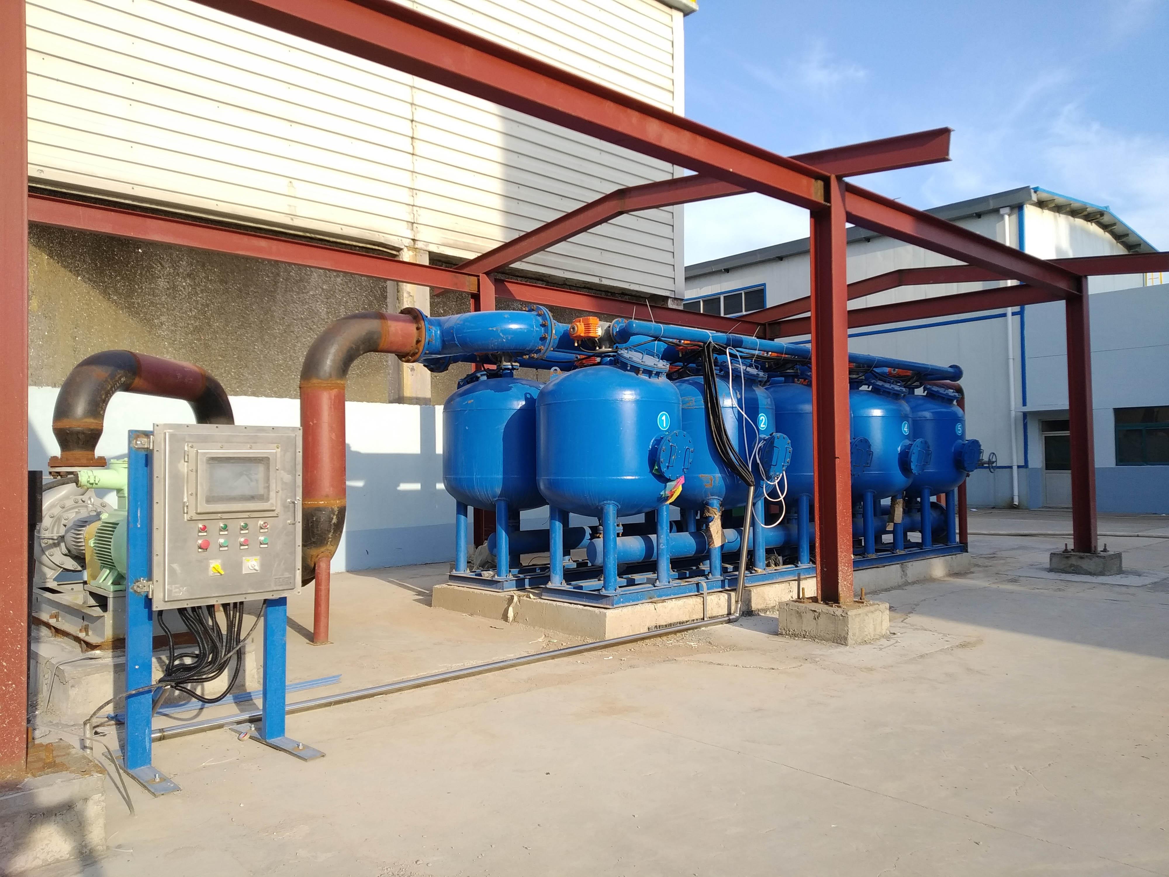 山东省某石化厂水循环处理项目