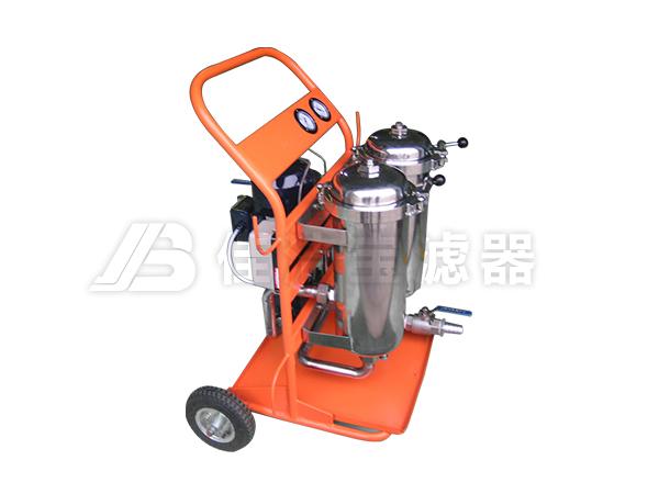 双筒不锈钢滤油机LYC-B