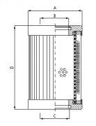 EH系统油滤芯 HC9651FDP16Z