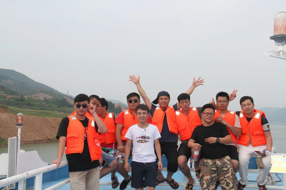 佳洁宝滤器优秀团队三峡自驾游